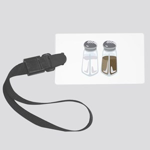 Salt Pepper Shakers Luggage Tag