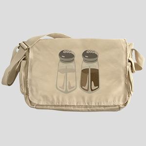 Salt Pepper Shakers Messenger Bag