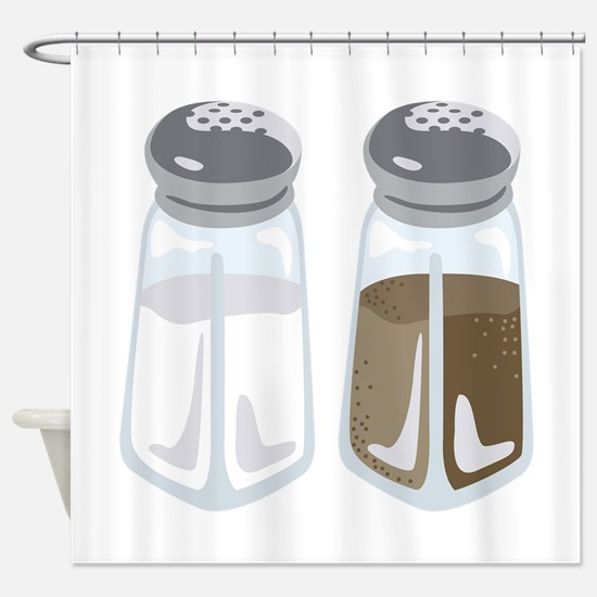Salt Pepper Shakers Shower Curtain