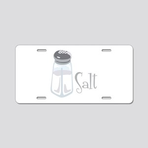 Salt Aluminum License Plate