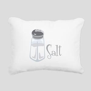 Salt Rectangular Canvas Pillow