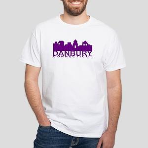 Danbury Connecticut White T-Shirt