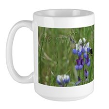 Be still and know that I am God Large Mug
