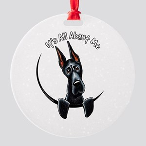 Great Dane IAAM Round Ornament