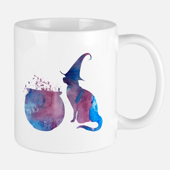 A scary cat! Mugs