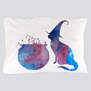 A scary cat! Pillow Case