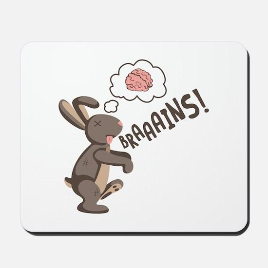 Braaains! Mousepad