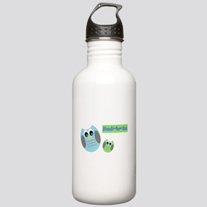 Dad-to-be Owls Water Bottle