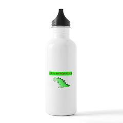 Future Grandpasaurus Water Bottle