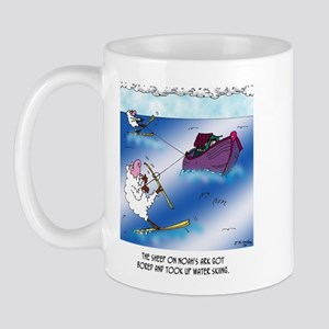 Sheep on the Ark Water Ski Mug
