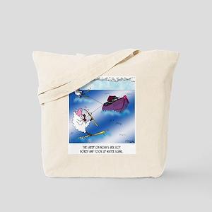 Sheep on the Ark Water Ski Tote Bag