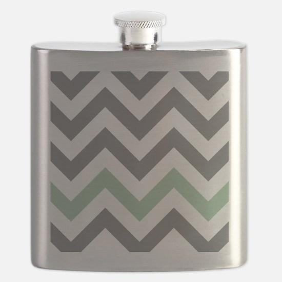 Chevron Pattern Flask