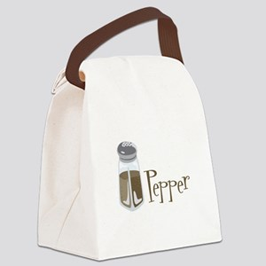 Pepper Canvas Lunch Bag