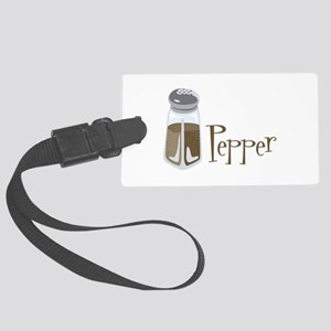 Pepper Luggage Tag