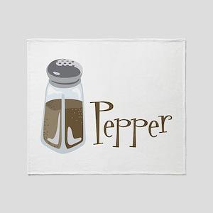 Pepper Throw Blanket