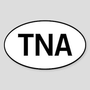 TNA Sticker (Oval)