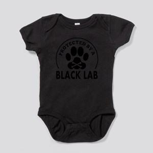 Protected By A Black Lab Body Suit