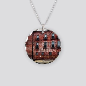 Coca-Cola Ghost Sign Necklace Circle Charm