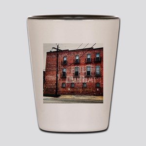 Coca-Cola Ghost Sign Shot Glass
