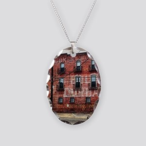 Coca-Cola Ghost Sign Necklace Oval Charm