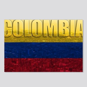 Colombia Flag Postcards (Package of 8)