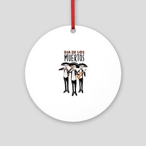 Dia De Los Muertos Ornament (Round)