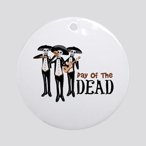 Pay Of The Dead Ornament (Round)
