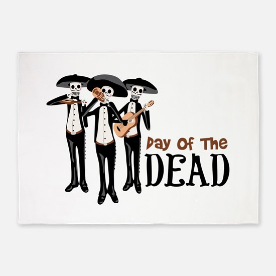 Pay Of The Dead 5'x7'Area Rug