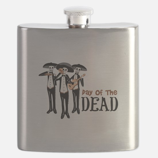Pay Of The Dead Flask