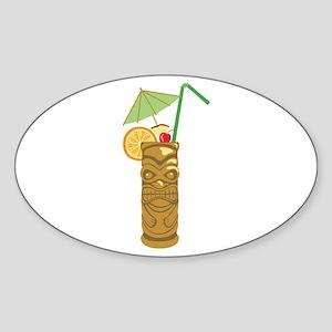 Tiki Mug Drink Sticker
