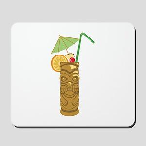 Tiki Mug Drink Mousepad