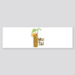 Mai Tai Bumper Sticker