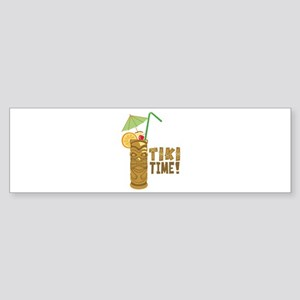 Tiki Time! Bumper Sticker