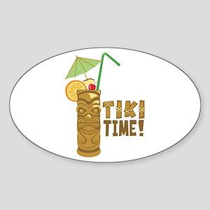 Tiki Time! Sticker