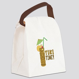 Tiki Time! Canvas Lunch Bag