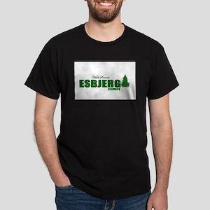 Visit Scenic Esbjerg, Denmark Dark T-Shirt