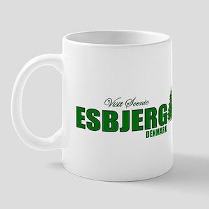 Visit Scenic Esbjerg, Denmark Mug