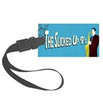 - The Slicked Up 9s Large Luggage Tag