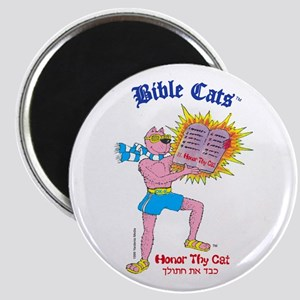 BIBLE CATS Magnet