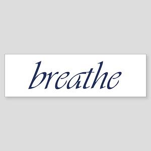 Breathe Sticker (Bumper)