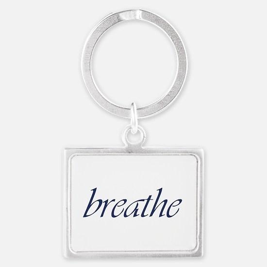 Breathe.Psd Landscape Keychain