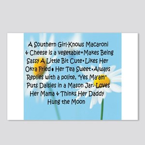 Southern Girl Postcards (Package of 8)