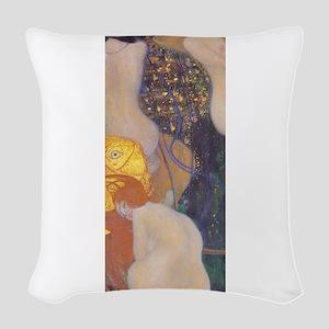 Goldfish Woven Throw Pillow