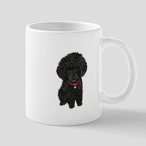 Poodle pup (blk) Mug
