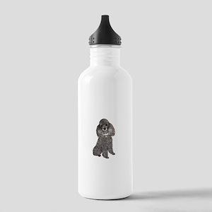 Poodle (Min-Slvr) Stainless Water Bottle 1.0L