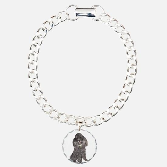 Poodle (Min-Slvr) Bracelet