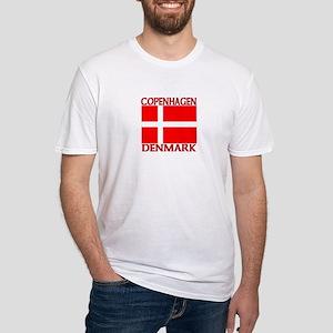Copenhagen, Denmark Fitted T-Shirt
