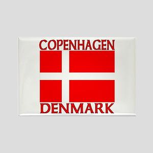 Copenhagen, Denmark Rectangle Magnet