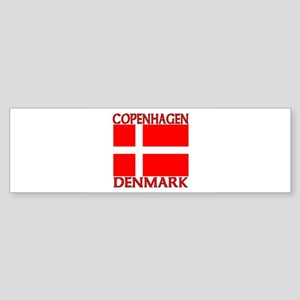 Copenhagen, Denmark Bumper Sticker