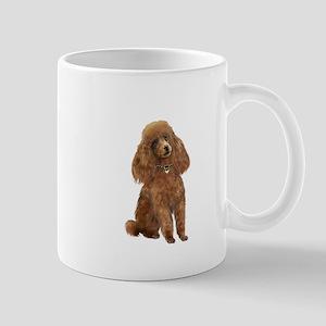 Poodle (toy-Min Apric.) Mug